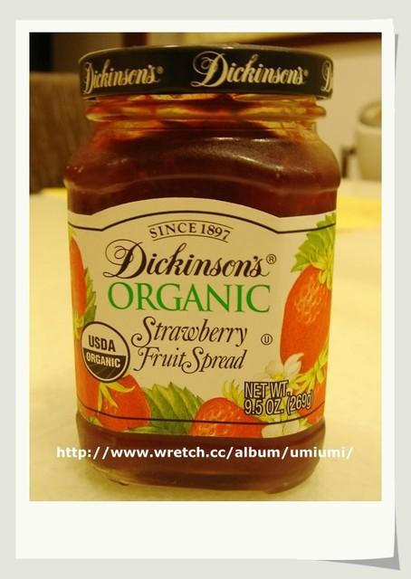 【美食】有機草莓果醬